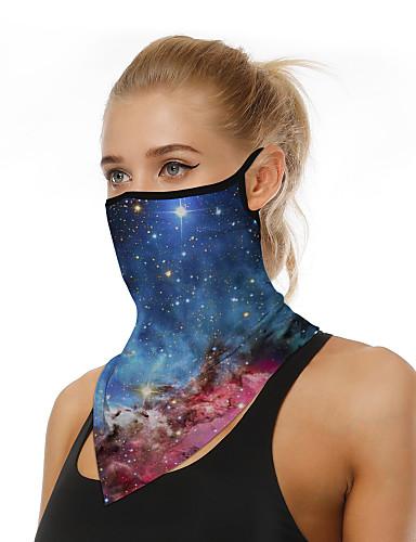 abordables Accesorios para Mujer-Hombre / Mujer Bufanda Triangular - Estampado 3D Estampado / Bloques