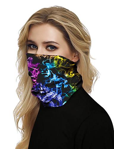 olcso Női kiegészítők-Női Bandana Balaclava nyakszínű nyakcső UV-álló, gyors, száraz, könnyű anyagok, Kerékpáros poliészter férfi nőknek / Szennyezés elleni védelem / Virágbotanikai fényvédő / Nagyon lélegző képesség / Utc