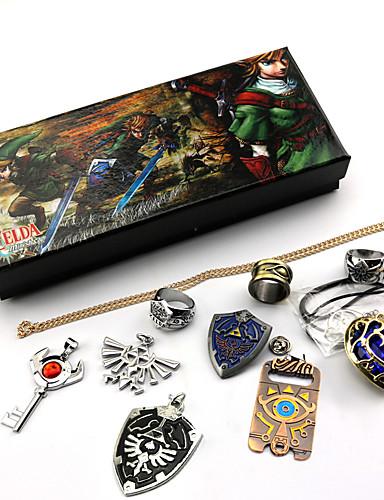 povoljno Video igre cosplay-Sword / Jewelry Inspirirana The Legend of Zelda Link / Cosplay Anime / Video Igre Cosplay Pribor Prstenje / Ogrlice / Broš Umjetna Gemstones / Legura Muškarci / Žene Halloween kostime