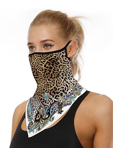 halpa Naisten asusteet-Miesten / Naisten 3D-kuvio Kolmiohuivi - Painettu / Leopardi