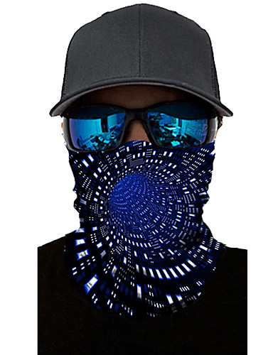 cheap Men's Accessories-Neck Gaiter Pollution Protection Quick Dry Ultraviolet Resistant Rainbow  Balaclavas Bandana for Adults' Road Cycling Hiking Cycling