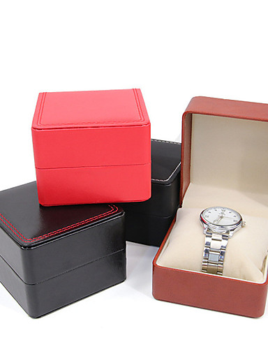 cheap Watch Accessories-Watch Display Stand Watch Boxes Leather 8 cm 9 cm