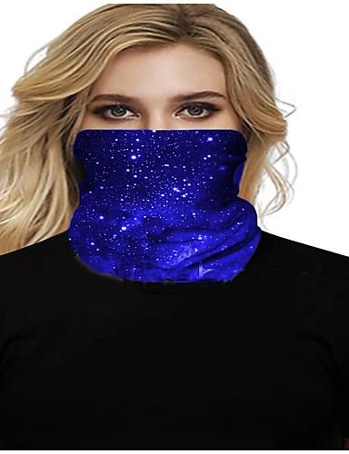 halpa Naisten asusteet-Naisten Bandana Balaclava -kaulanpitäjän kaulaputki UV-kestävät nopeasti kuivat kevyet materiaalit polkupyörä polyesteria miehille naisille / Saastumissuojaus / Kukka-kasvitieteellinen aurinkovoide