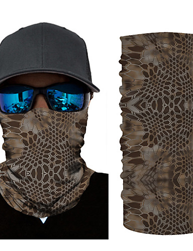 cheap Men's Clothing-Men's / Unisex 3D Print Square Scarf / Infinity Scarf / Hijab - Print / Color Block Multifunctional