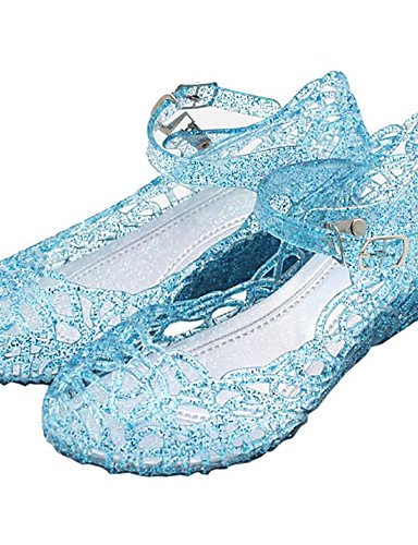 cheap Movie & TV Theme Costumes-Princess Cinderella Elsa Shoes Masquerade Girls' Movie Cosplay Cosplay Halloween White / Purple / Red Shoes Carnival Masquerade PVC(PolyVinyl Chloride)