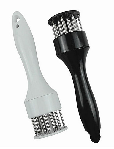 cheap BBQ Tool Set-Stainless Steel Meat Tenderizer Needle Meat Hammer Tenderizer Cooking Tools Kitchen Tools Cooking Baking Accessories
