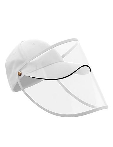 저렴한 여성용 악세사리-여성용 보호 모 방수 방진 방풍 폴리에스테르 활동적 베이직 - 솔리드 화이트 블랙 푸른