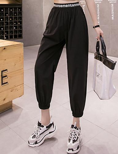 cheap Hip Hop Dancewear-Hip Hop Pants Pattern / Print Gore Women's Training Performance Polyester Taffeta