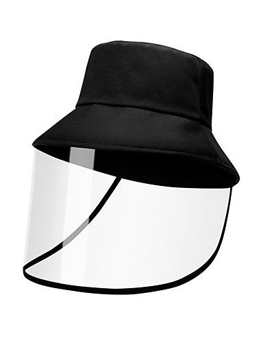 cheap Men's Hats-Men's Sun Hat Polyester Basic - Solid Colored Fall Black