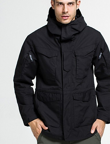 cheap Men's Jackets & Coats-Men's Jacket Daily Regular Camo / Camouflage Black / Army Green / Green XS / US32 / UK32 / EU40 / S / US34 / UK34 / EU42 / L / US38 / UK38 / EU46