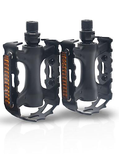 cheap Cycling-mi.xim Bike Pedals Safety Convenient Sports 2 Bearing Aluminum Alloy Cr-Mo for Cycling Bicycle Road Bike Mountain Bike MTB BMX Black