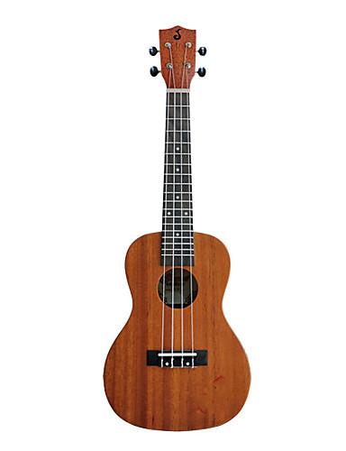 halpa Guitar & Basso-Ukulele Aquila Ruusupuu 23inch syntymäpäivälahjoiksi ja puoluesuosikkeiksi