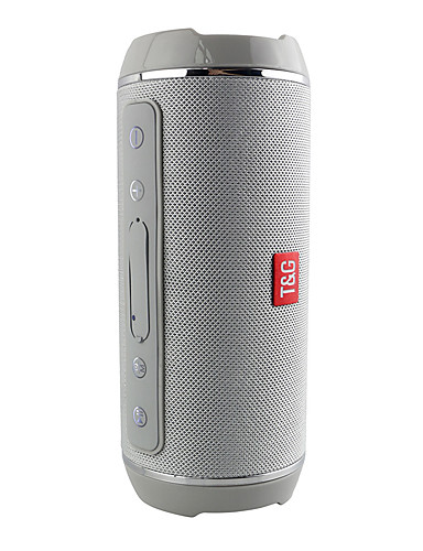 cheap Portable Speakers-T&G Bluetooth Speakers Portable Wireless Speaker Player USB Radio FM Stereo Music Sound Sweatproof Column Outdoors