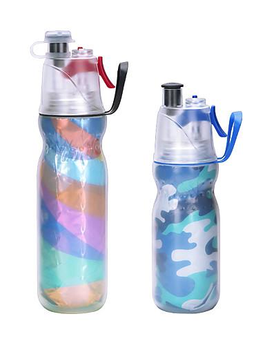 Outdoor Sport Travel Water Drink Bottle Spray Bottle Portable Leak Proof Cup TK