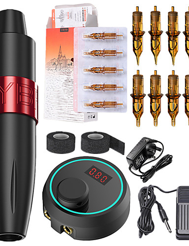 cheap Tattoo Pen kits-Professional Tattoo Kit Tattoo Machine - New motor tattoo machine set professional rocket tattoo pen Xia An tattoo machine full set of tattoo tools