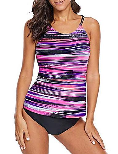 cheap Wetsuits, Diving Suits & Rash Guard Shirts-Women's Tankini Swimwear Swimming Water Sports Summer