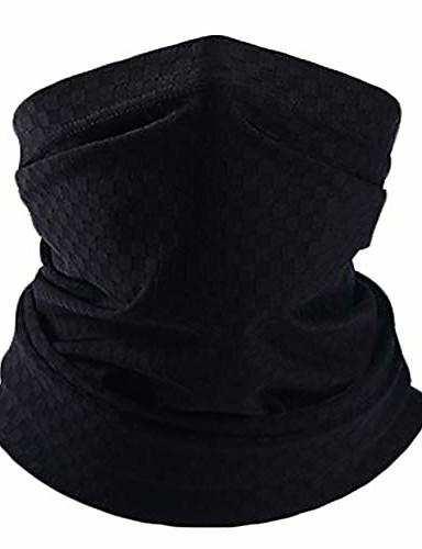 billige Tilbehør til herrer-solbeskyttelse hals gamasjer ansikts skjerf maske bandanas unisex sommer ansiktsdeksel balaclava for sykling fotturer fiske rødt