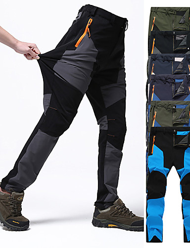 SUKUTU Mens Lightweight Windproof Fast Dry Breathable Hiking Pants Climbing Mountain Sportswear Trousers