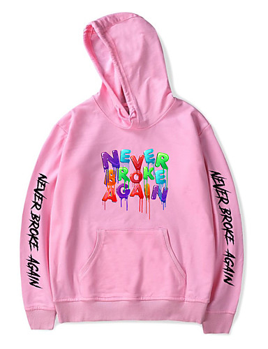 cheap Cosplay & Costumes-Inspired by Never Broke Again Young Boy Cosplay Costume Hoodie Polyester / Cotton Blend Graphic Printing Harajuku Graphic Hoodie For Women's / Men's