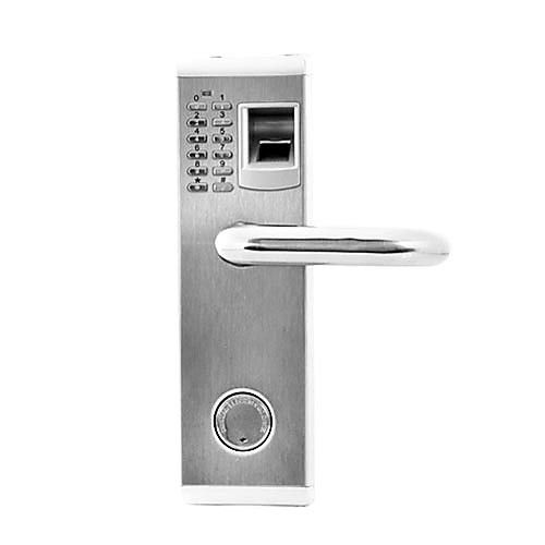 3in1 biometric fingerprint and password door lock with deadbolt right handed - Biometric Door Lock