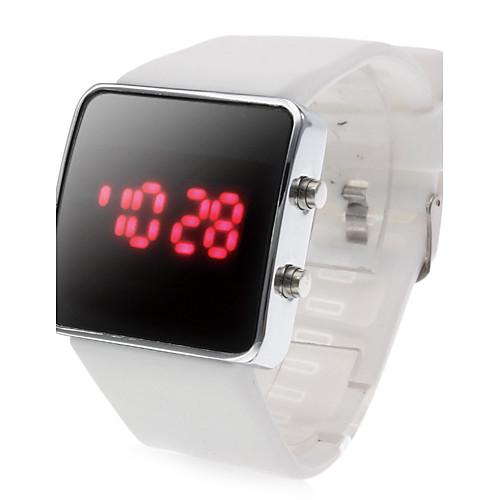 Механические женские белые часы свотч