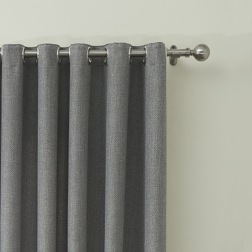 rod pocket grommet top tab top double pleated curtain modern