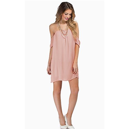 cab8d543054b 2014 νέα από τον ώμο χαλαρά φόρεμα dak γυναικών 2019 - US  12.99