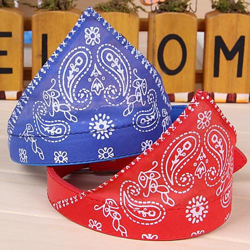 Cat Dog Bandanas & Hats Puppy Clothes Cosplay Wedding Dog Clothes Puppy Clothes Dog Outfits Black Purple Red Costume for Girl and Boy Dog PU Leather Cotton S