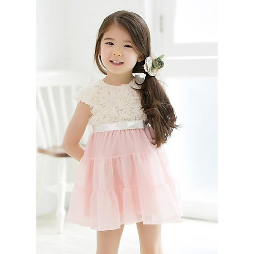 5e2bb1790575 2015 sommer jenter kjole rose blomst kjoler jente fest kjole barnas ...
