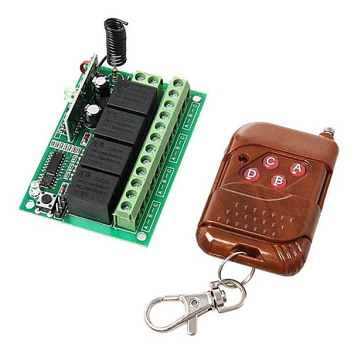 radio frequency relay control Remote control circuits controls are 2, infrared and rf (radio frequency) - this project is a 3-channel ir remote control with 3 output relay and easy to.