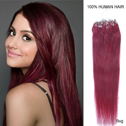Inele Extensii Păr Umane Extensii De Par Ondulat Păr Natural