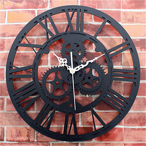 european antique wall clock gear