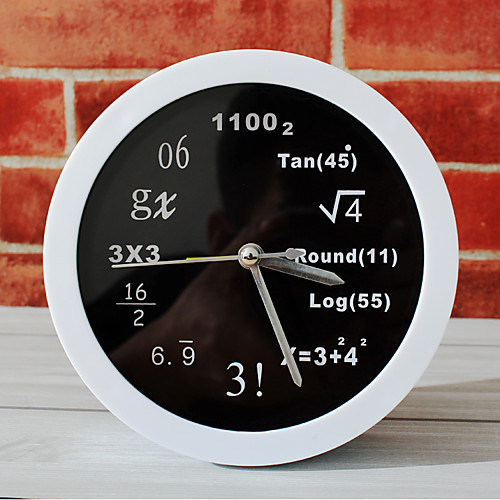 polytechnic math equations desk clock desk alar