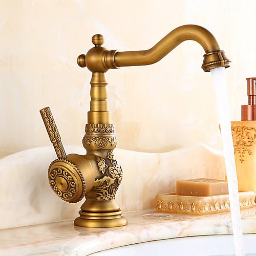 brass faucet kitchen