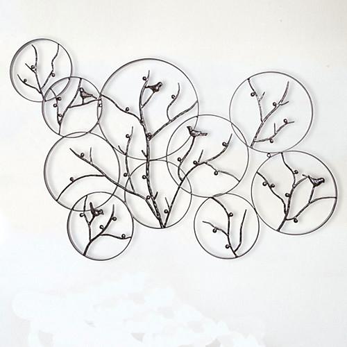 Decorazione parete metallo idea d 39 immagine di decorazione - Decorazioni da parete in metallo ...