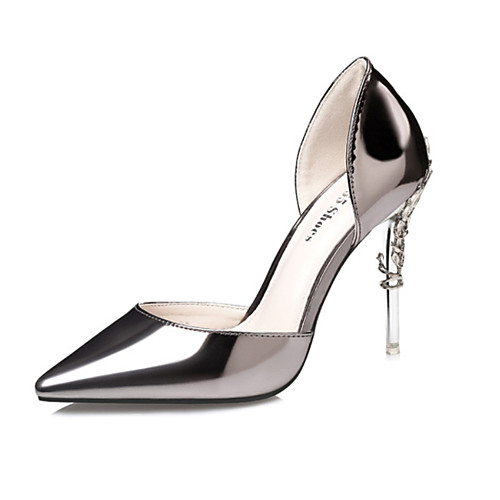 0ba1825acf9 您的浏览器不支持 HTML5 video 标签。 group. ask for a question. Women s Patent Leather  Spring   Summer Club Shoes Heels Walking ...