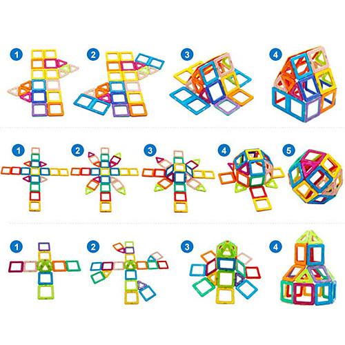 Фигуры из магнитного конструктора схемы