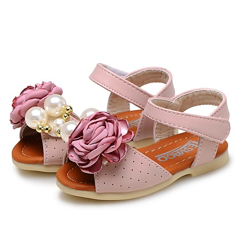 1960a23d3987 ADOR® Girls  Shoes Leatherette Summer Comfort   Flower Girl Shoes ...