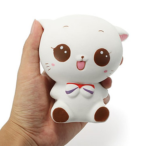 LT.Squishies Squeeze Toy / Sensory Toy Cat Animal Stress and Anxiety Relief Office Desk Toys Squishy Decompression Toys for Unisex