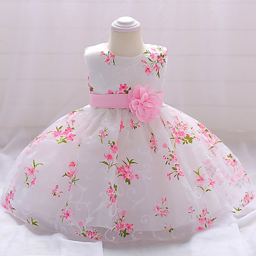 9dab091323 您的浏览器不支持 HTML5 video 标签。 group. ask for a question. Baby Girls' Party / Going  out Floral Sleeveless Cotton Dress White