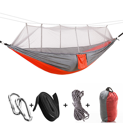 Ultralight Portable Hammock Mosquito Net For Outdoor Nylon Material Anti-mosquito Nets With Super Size Baby Bedding Crib Netting