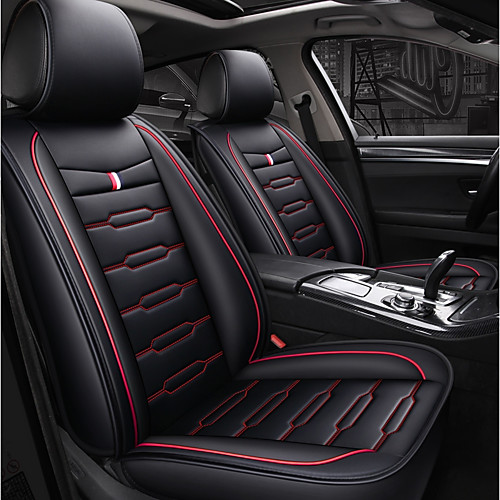 Odeer Car Seat Covers Seat Covers Black Blue Black Red