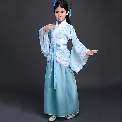 b98ca7f37 Dance Costumes Hanfu Girls' Performance Spandex Split Joint Long ...