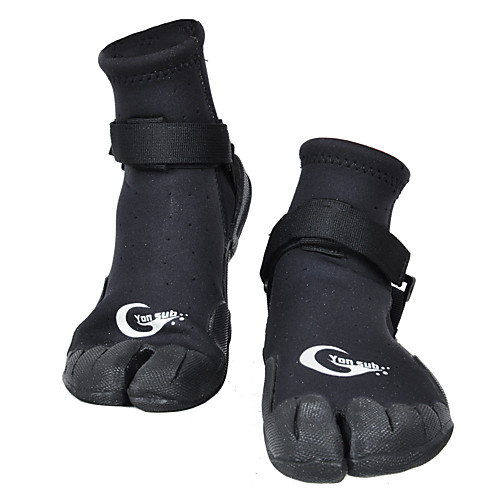 YON SUB Men's Women's Neoprene Boots 3mm Velcro Rubber Neoprene Quick Dry Anti-Slip Barefoot Surfing Snorkeling Boating Kayaking Water Sports - for Adults