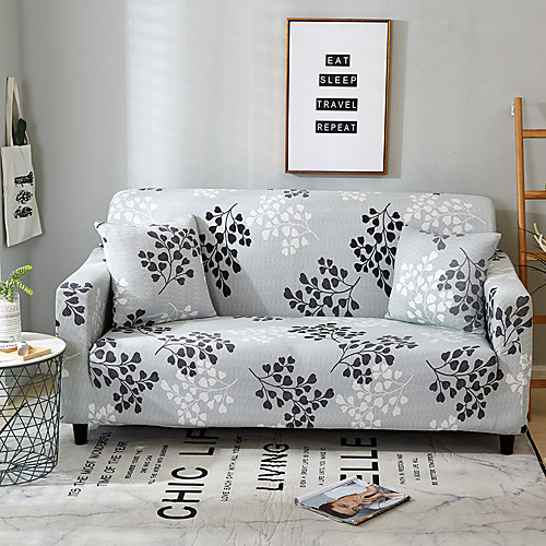 2019 Premium Stylish Simplicity Print Sofa Cover Stretch Couch Slipcover Super Soft Fabric Retro Hot Sale Couch Cover
