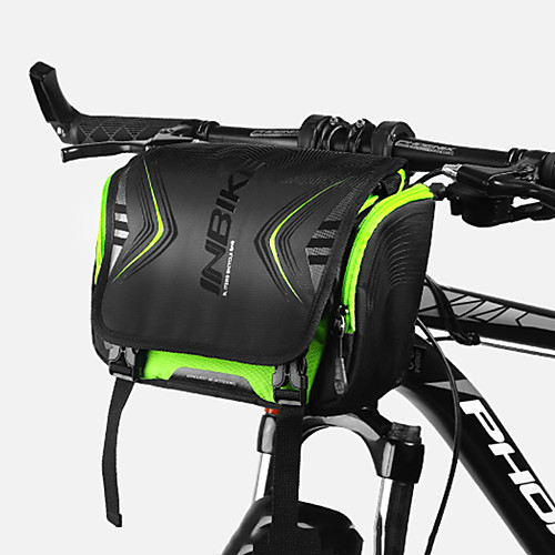 INBIKE 3 L Bike Handlebar Bag Adjustable Large Capacity Waterproof Bike Bag Oxford Cloth Polyester Bicycle Bag Cycle Bag Cycling Cycling / Bike / Rainproof / Reflective Strips / Waterproof Zipper