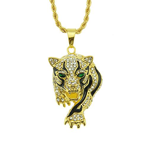 Daily 8 pcs tibet White Elephant Tiger Dragon Rhinoceros Biker Men/'s Necklace
