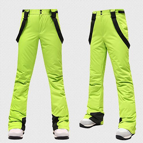 Women's Ski / Snow Pants Skiing Snowboarding Winter Sports Thermal Warm Waterproof UV Resistant Terylene Pants / Trousers Ski Wear