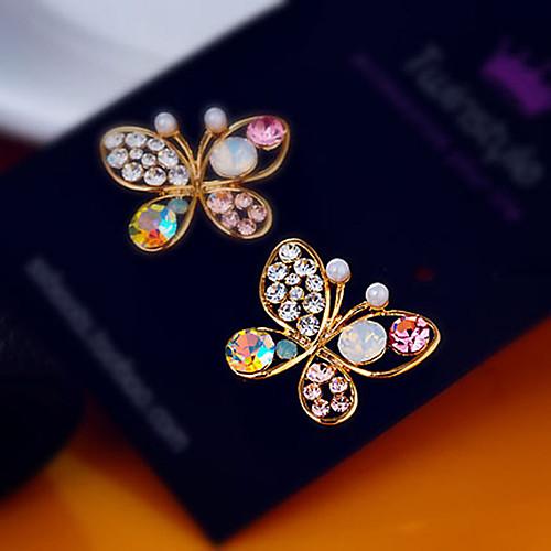 Women's Earrings Holiday Wedding Birthday Romantic Earrings Jewelry Gold For Date Street Festival 1 Pair