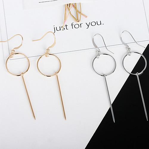 Women's Earrings Holiday Wedding Birthday Romantic Earrings Jewelry Gold / Silver / Black For Date Street Festival 1 Pair